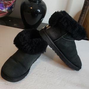UGG Black Ultra Short Boot Size 5
